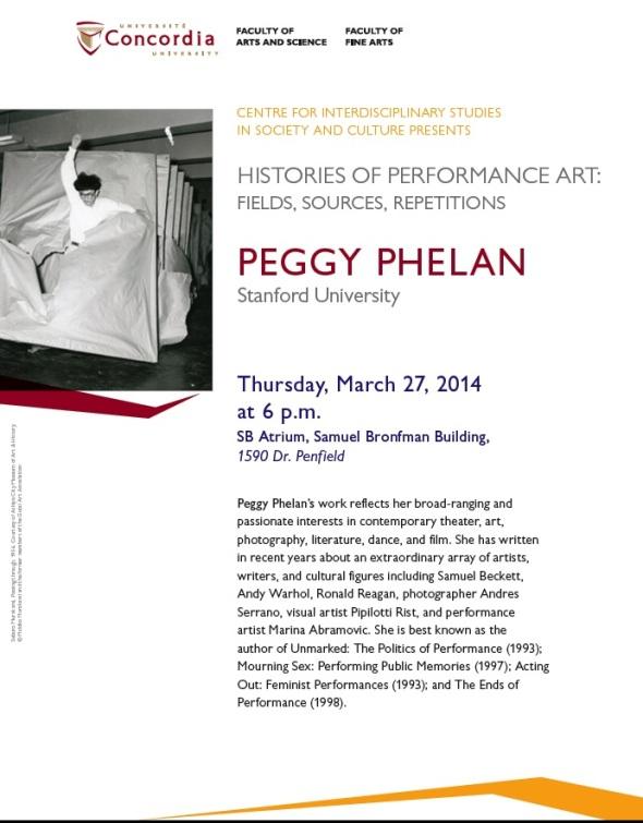 Peggy Phelan